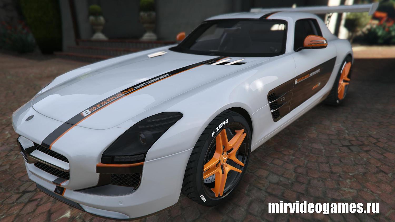 Мод Mercedes Benz SLS AMG - Мерседес Бенц для GTA 5