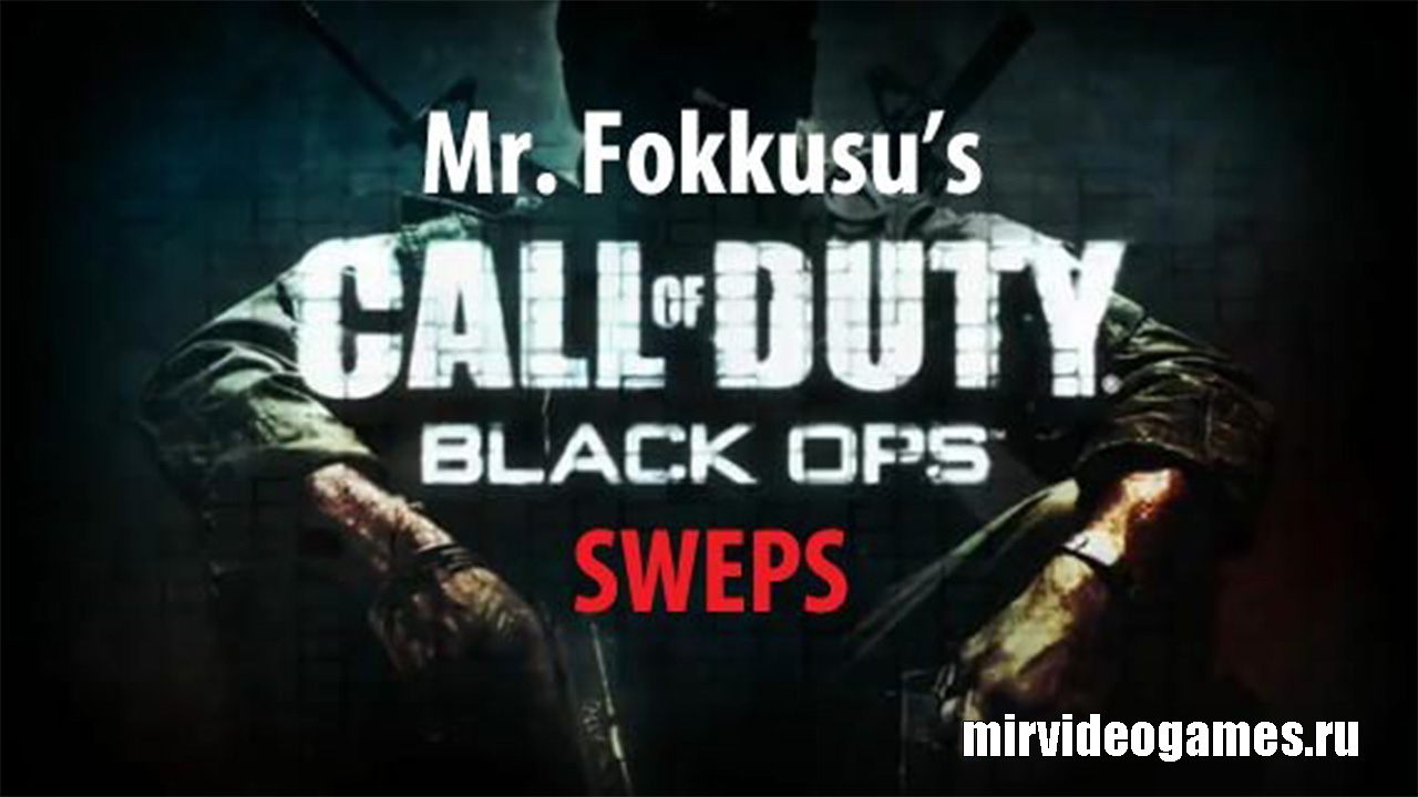 Мод Call of Duty: Black Ops SWEPS для Garry's Mod