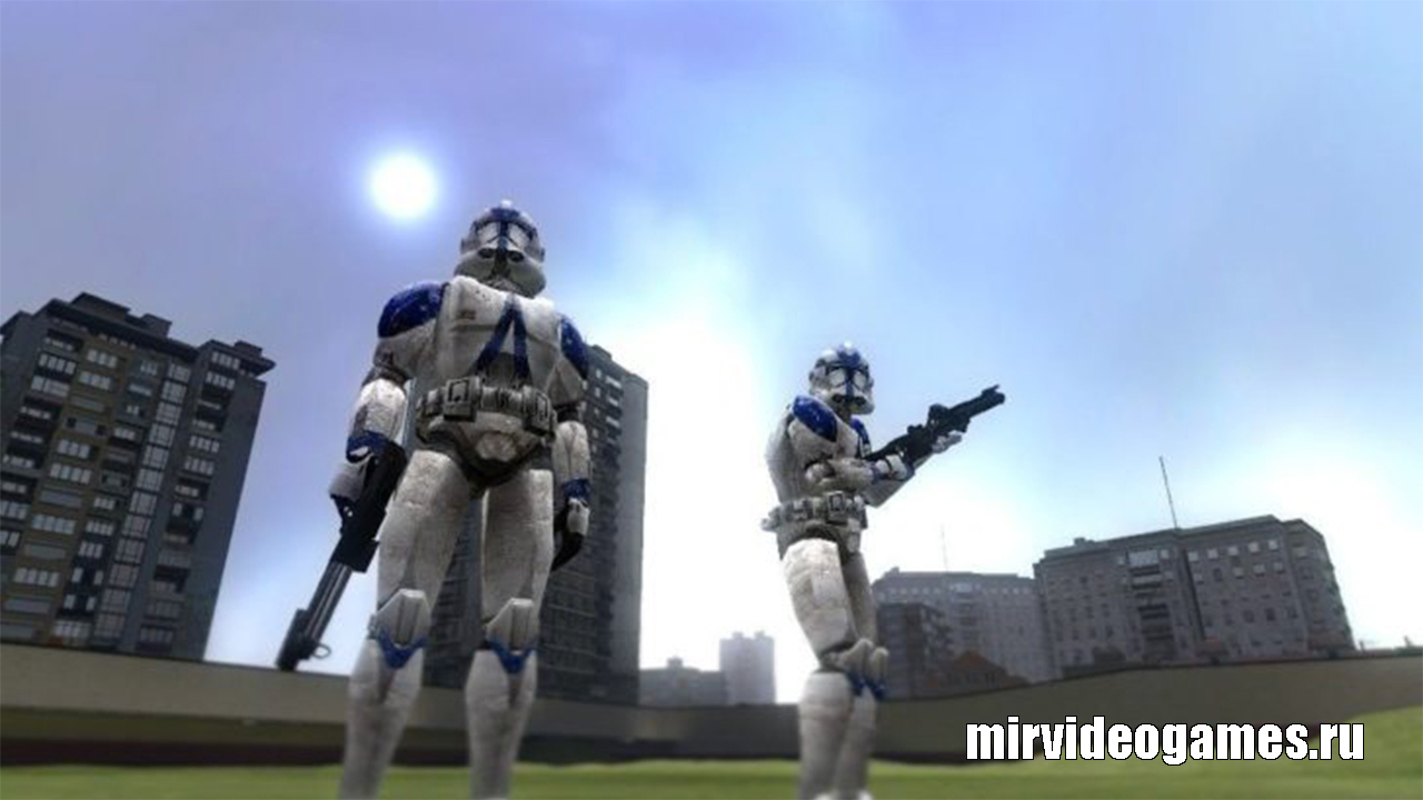 Мод Star Wars NPCs Sweps для Garry's Mod