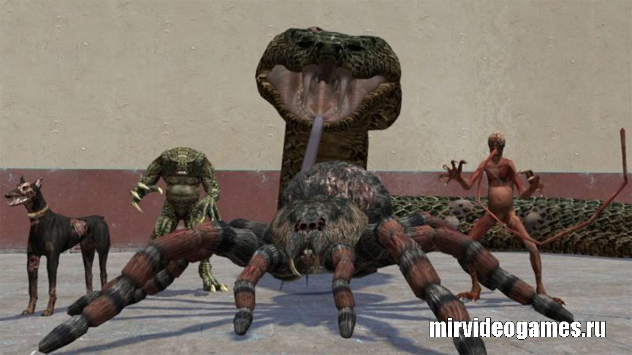 Моделька monster pack для Garry's Mod