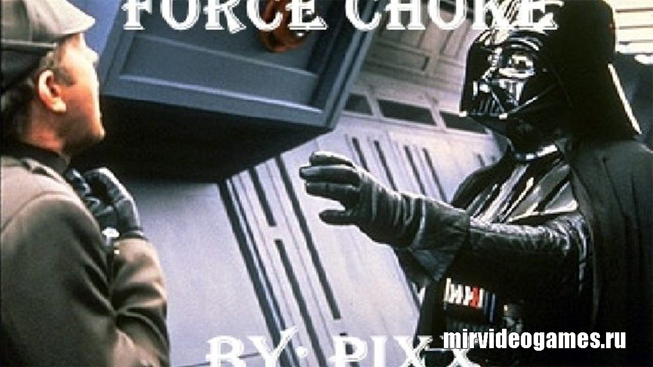 Мод Star Wars Force Choke для Garry's Mod