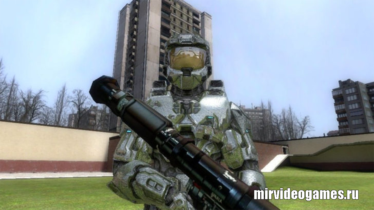 Мод Halo 3 Master Chief для Garry's Mod