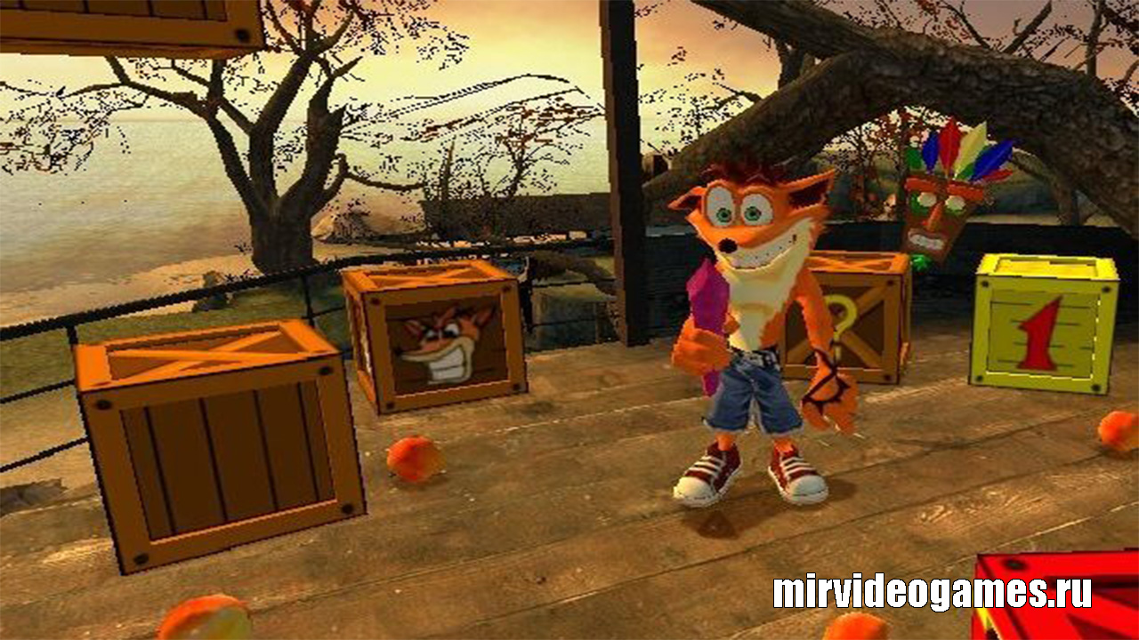 Модель игрока Crash Bandicoot для Garry's Mod