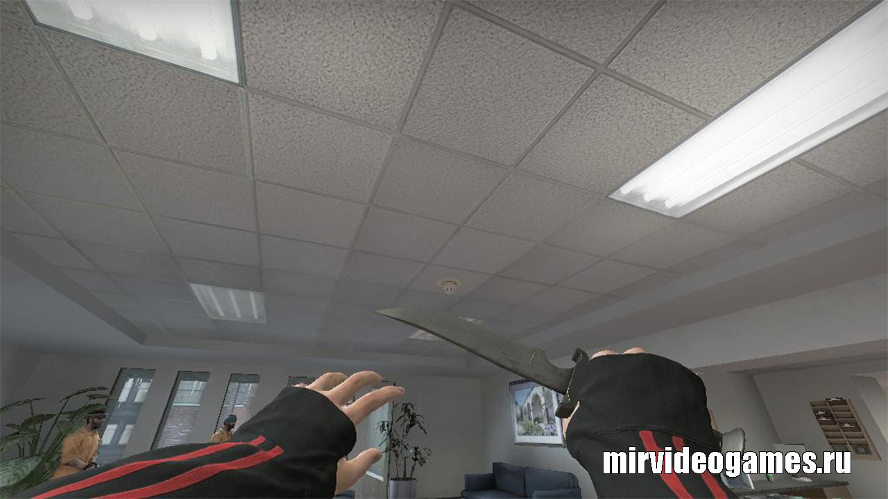 Модель руки Terrorist office arms HQ re-texture для СS:GO