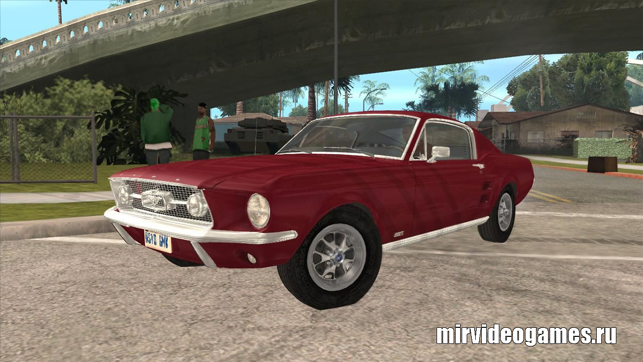Мишна Ford Mustang Fastback 1967 для Grand Theft Auto: San Andreas
