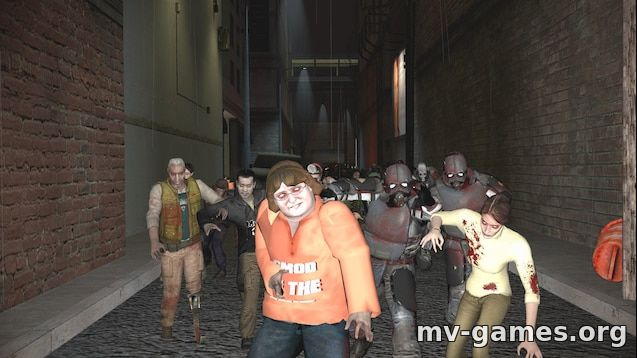Мод Gmod Of The Dead SNPCs: Reanimated для Garry's Mod