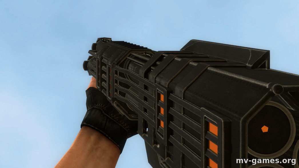 Blazing Pump Skin для Counter-Strike Source