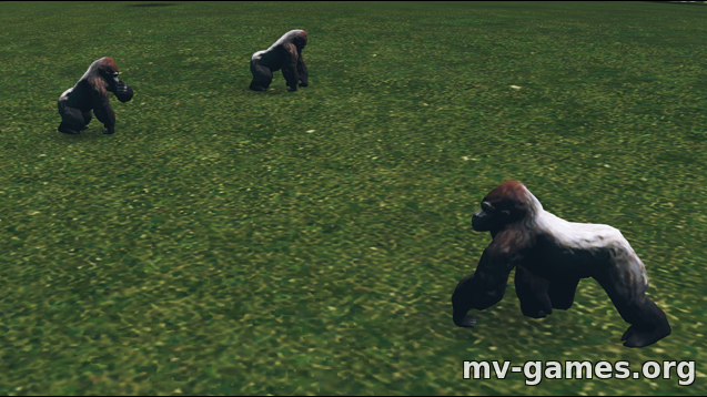 Парк Gorilla Spawn для Cities: Skylines