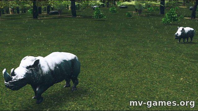 Парк Rhino Spawn для Cities: Skylines