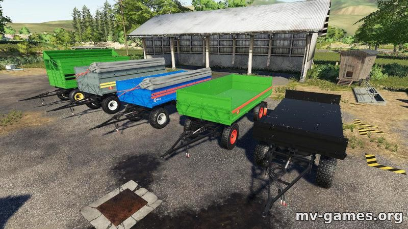 Мод Fortschritt HW80 для Farming Simulator 2019