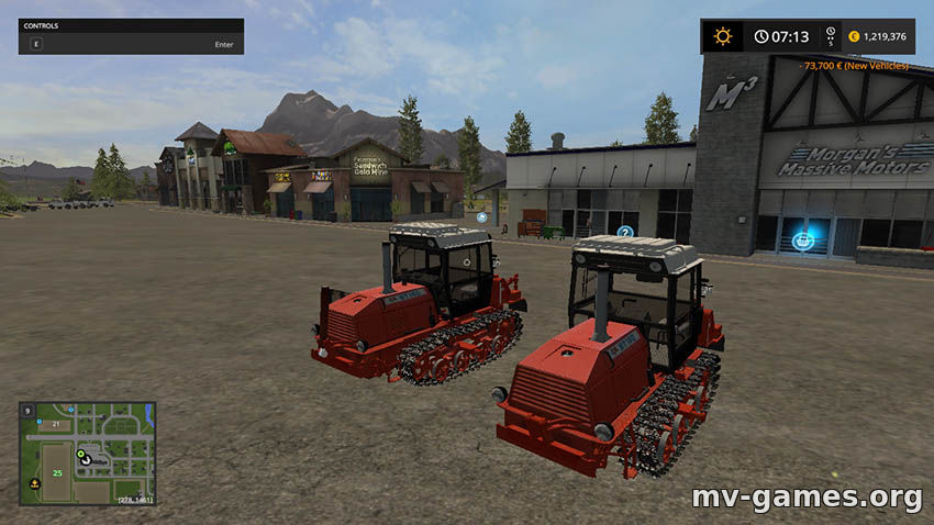 Мод БТ-150 для Farming Simulator 2017