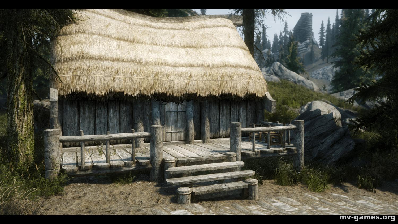 Дом Хижина у Фолкрита для Skyrim
