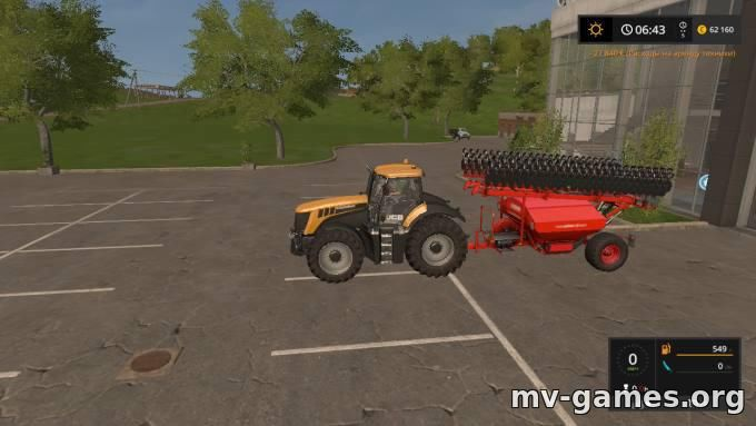 Мод LEMKEN SOLITAIR 12 V3.0 для Farming Simulator 2017