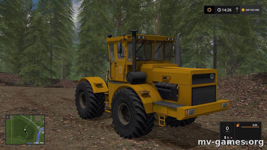 Мод Kirovec K-700A v 1.3.8 для Farming Simulator 2017