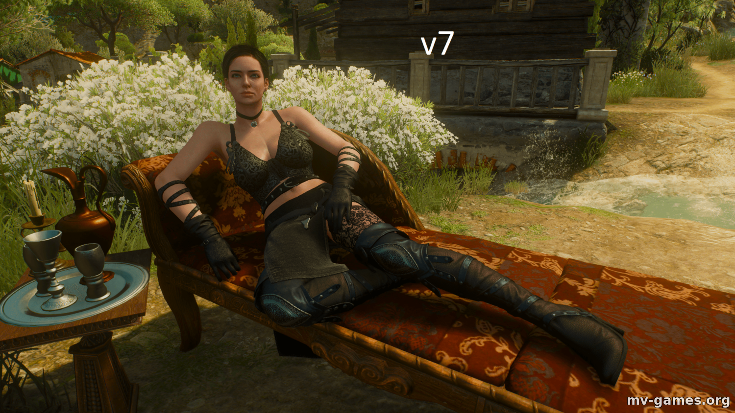 Мод Yennefer Clothes Pack для Witcher 3