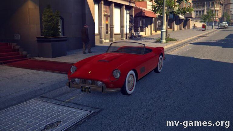 Мод Ferrari 250 California 1957 для Mafia 2