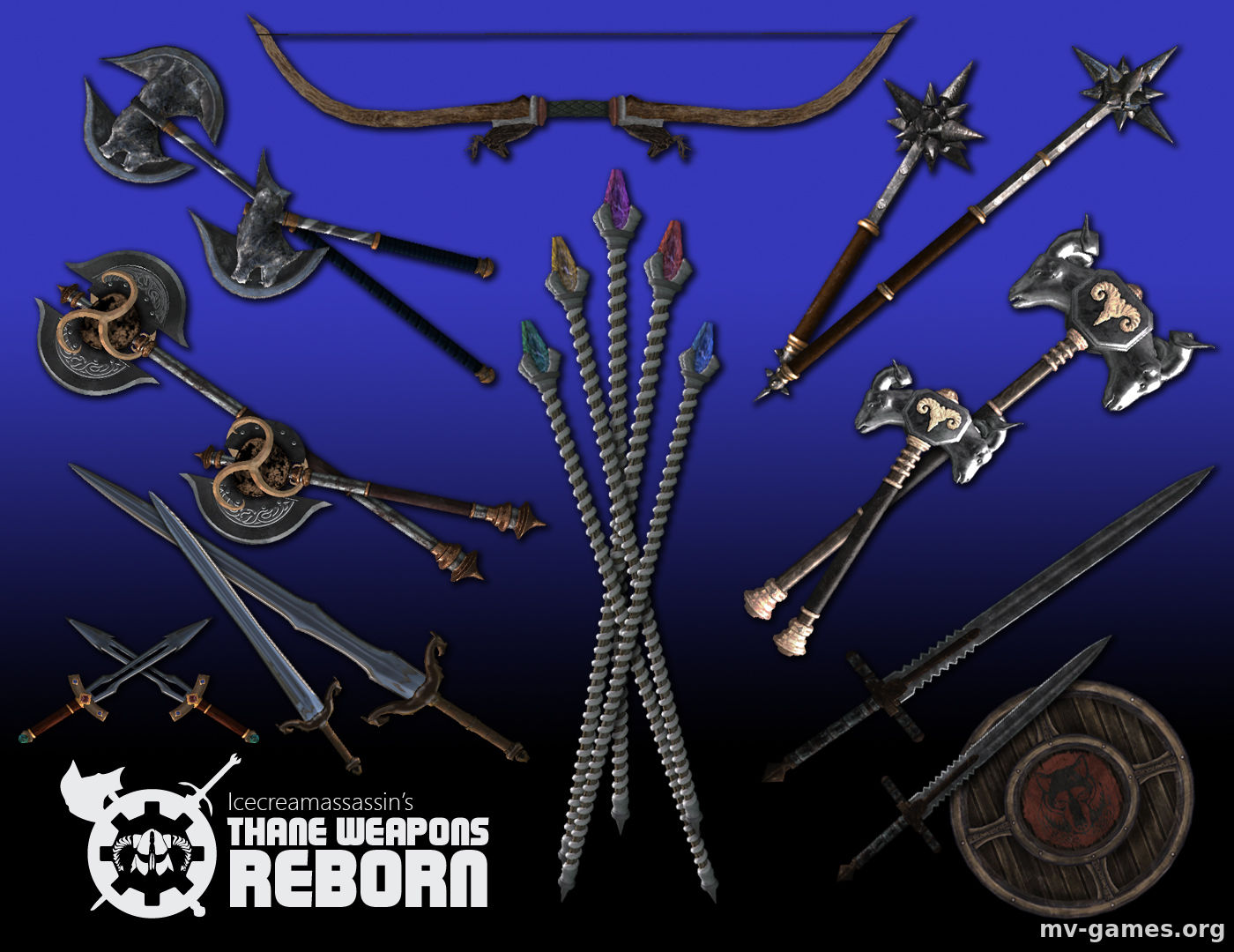 Мод Thane Weapons Reborn для Skyrim