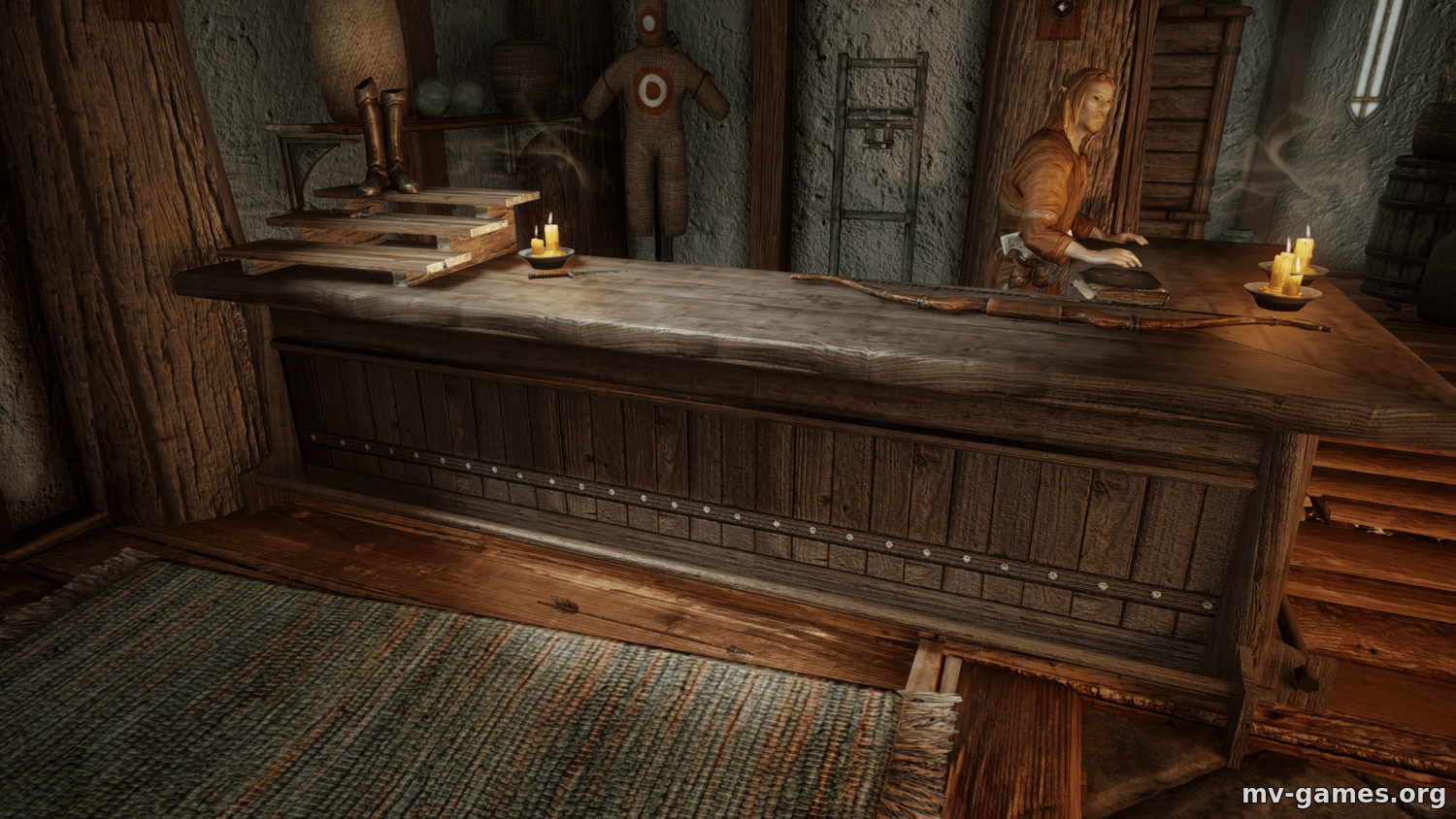 Мод Barset HQ - Seamless Fix для Skyrim
