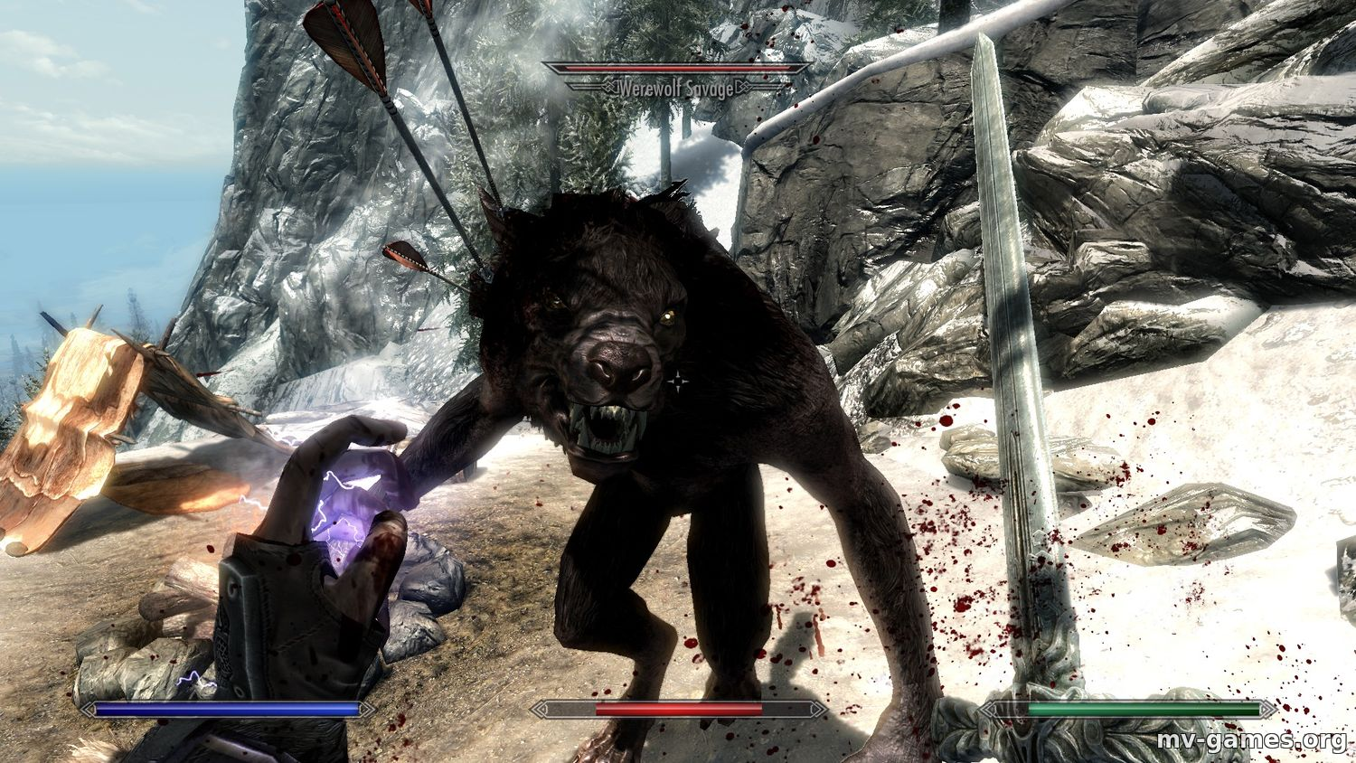 Мод Wild Werewolves для Skyrim