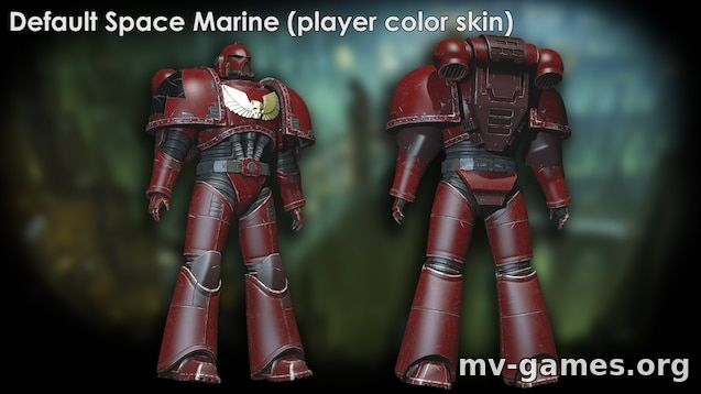 Мод Space Marines Pack (Warhammer 40k) для Garry's Mod