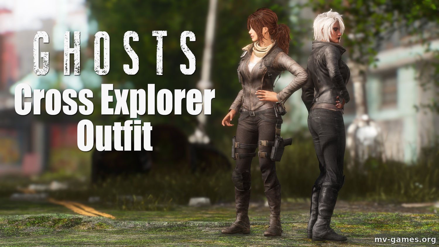 Мод Ghosts - Cross Explorer Outfit для Fallout 4