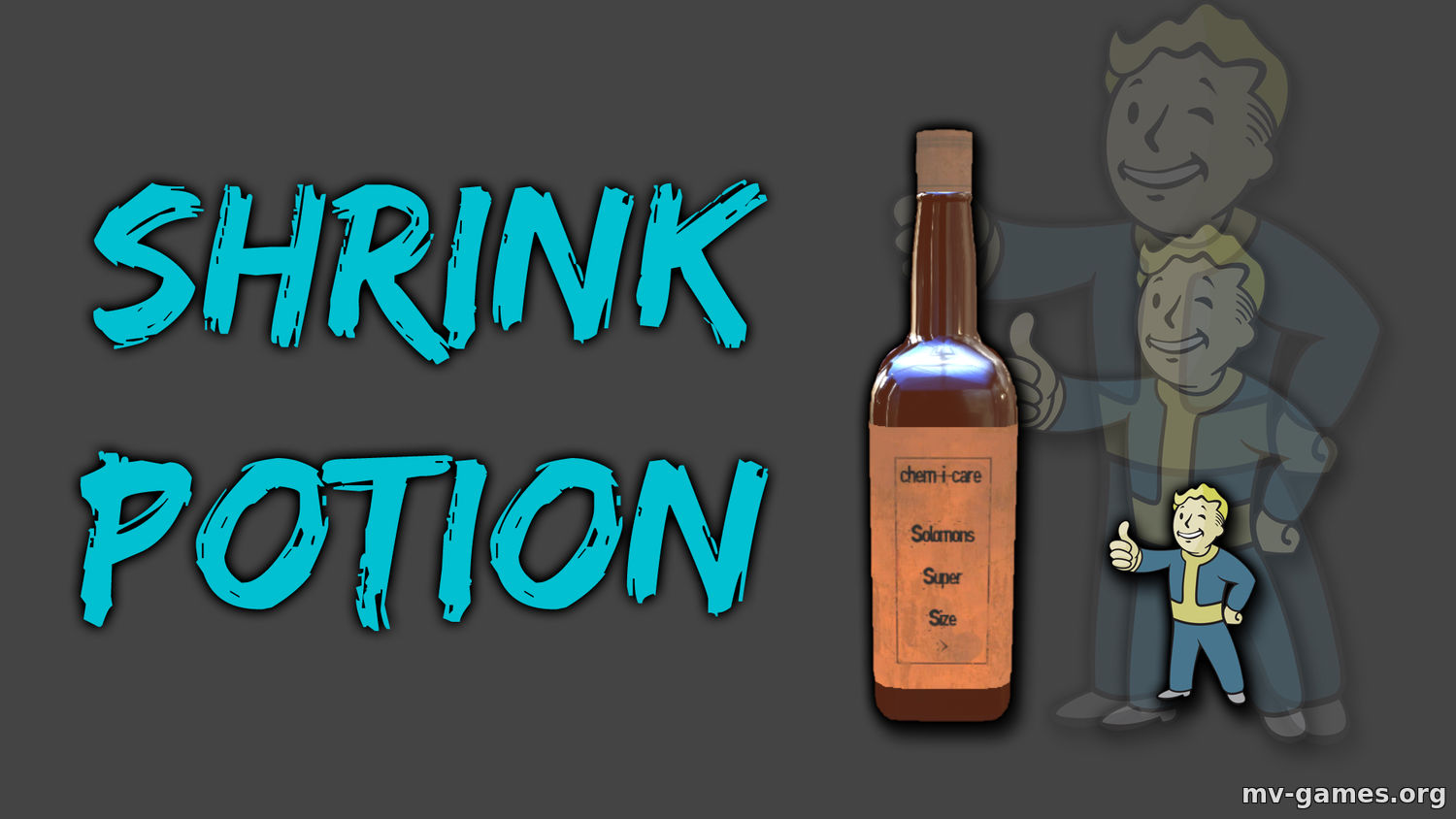 Мод Shrink Potion - Get Tiny для Fallout 4