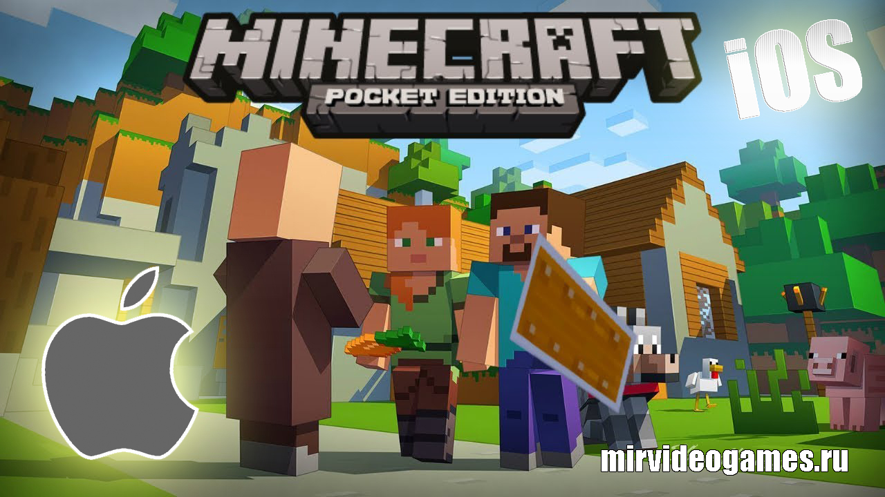 Скачать Скачать Minecraft Pocket Edition (PE) v1.6.1  на iOS Бесплатно