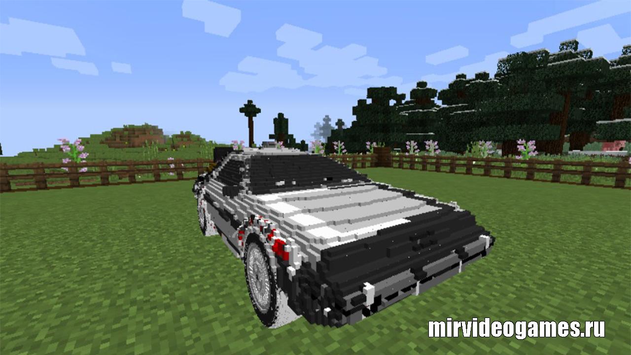 сборка на автомобили и гонки на слабые компьютеры на майнкрафт 1.7.10 #6