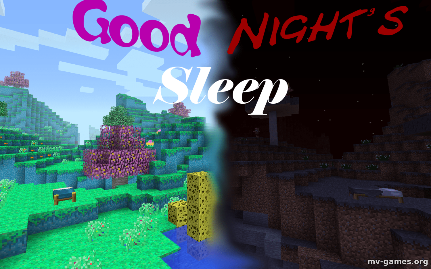 Скачать Мод Good Night's Sleep для Minecraft 1.16.2 Бесплатно