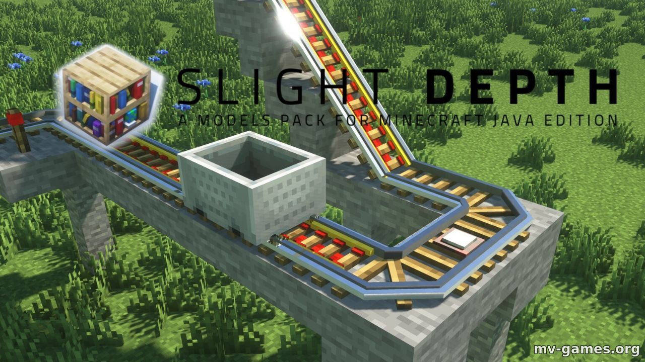 Текстуры Slight Depth для Minecraft 1.16.4