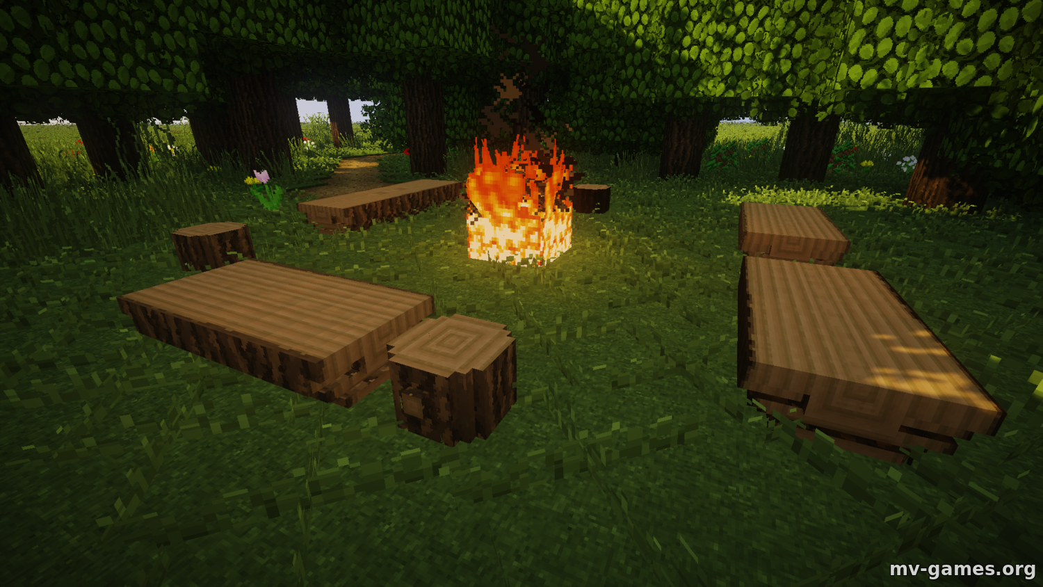 Мод Iron Age Furniture для Minecraft 1.16.4