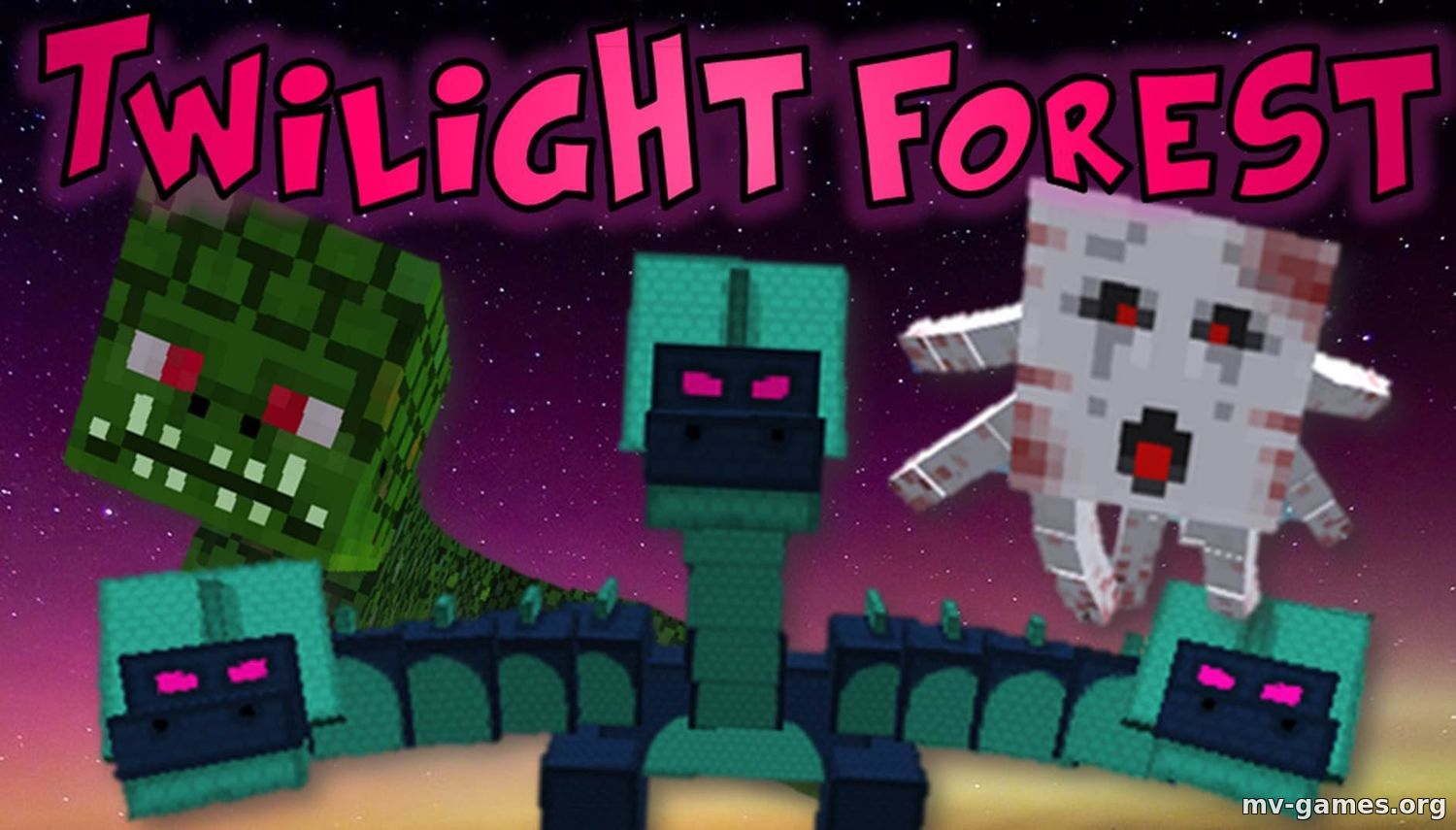 Скачать Мод The Twilight Forest для Minecraft 1.16.5 Бесплатно